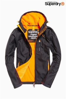 Superdry Grey/Orange Windtrekker Jacket