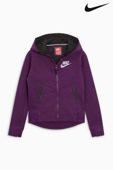 Nike Purple Tech Fleece Hoody