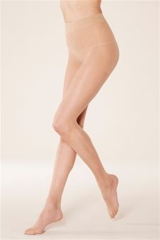 5 Denier Invisible Sheer Tights Two Pack