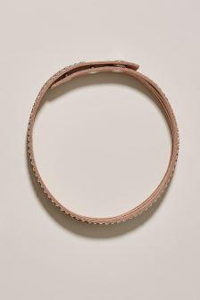Sparkle Detail Cuff Bracelet