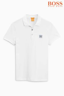 Boss Orange White Basic Polo