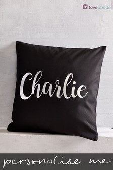 Personalised Name Cushion By Loveabode