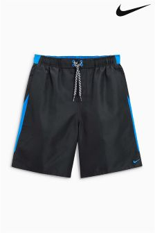 Nike Black/Blue Swimshort