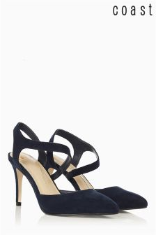 Coast Navy Twist Shoe