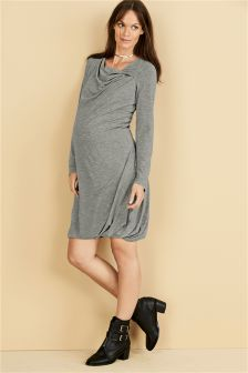 Maternity Bubble Hem Dress