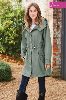 Joules Swithin Khaki Parka