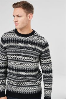 Fairisle Pattern Crew
