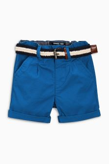 Belted Shorts (3mths-6yrs)