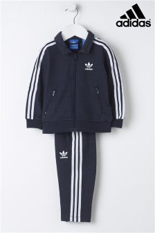 adidas Originals Baby Navy 3 Stripe Tracksuit