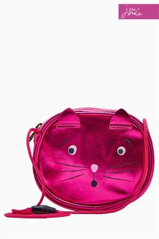 Joules Pink Cat Party Bag