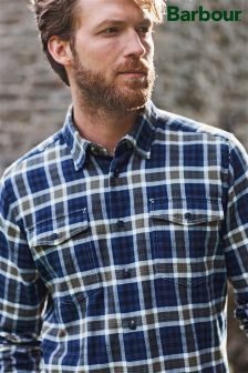 Barbour® Navy Rowlock Shirt