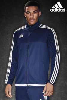 adidas Navy/White Track Top