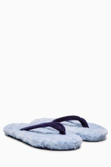 Snuggle Toe Thong Slippers
