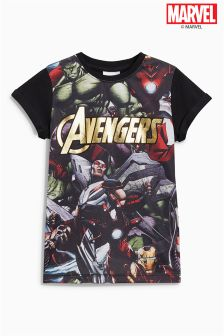 Avengers Foil Print T-Shirt (3-16yrs)