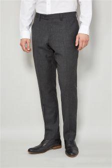 Signature Textured Suit: Trousers