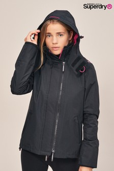 Superdry Black/Pink Windcheater Jacket
