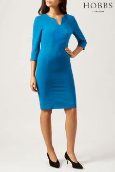 Hobbs Blue Clementine Dress
