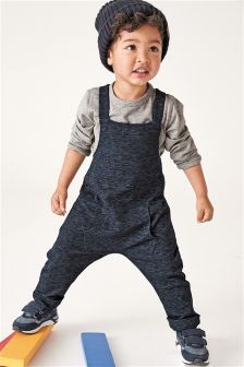 Jersey Dungarees (3mths-6yrs)
