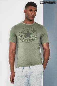 Converse Herb Green Jacquard T-Shirt
