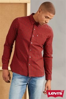 Levi's® Red/Navy Check Shirt