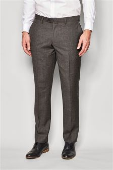 Signature Textured Slim Fit Suit: Trousers