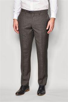 Signature Textured Slim Fit Suit: Trousers