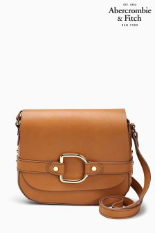 Abercrombie & Fitch Brown Crossbody Bag