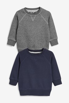 Crew Neck Tops Two Pack (3mths-6yrs)