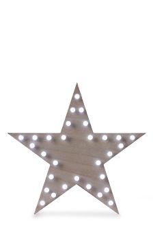 Wood Star Light