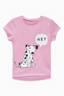 Dog Character T-Shirt (3mths-6yrs)