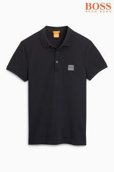 Boss Orange Black Basic Polo