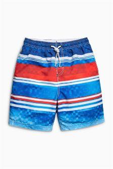 Stripe Swim Shorts (3-16yrs)