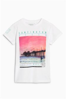 Beach Scene T-Shirt (3-16yrs)