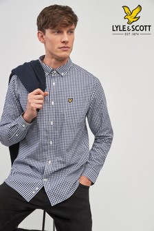Lyle & Scott Long Sleeve Gingham Shirt