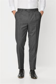 Puppytooth Slim Fit Suit: Trousers