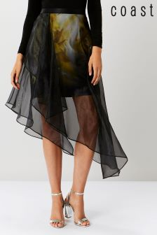 Coast Gold Ada Printed Layered Skirt