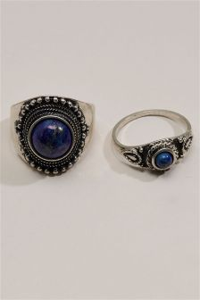 Blue Stone Ring Pack