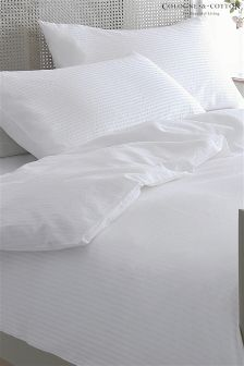 Cologne & Cotton Seersucker Duvet Cover