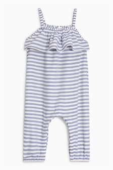 Frill Stripe Playsuit (3mths-6yrs)