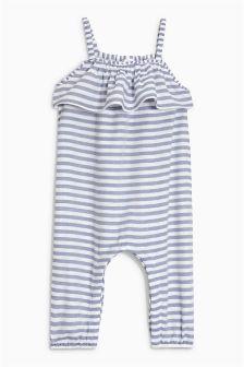 Frill Stripe Playsuit (3mths-6yrs)