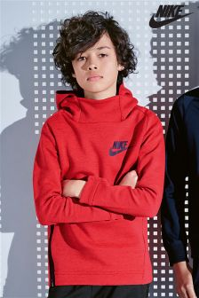 Nike Tech Red Fleece Hoody