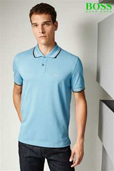 Boss Green Tipped Paddy Poloshirt