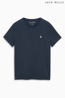 Jack Wills Navy Basic T-Shirt