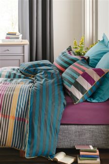 Bold Multi Stripe Bed Set