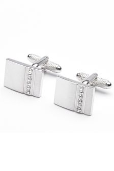 Diamanté Cufflinks