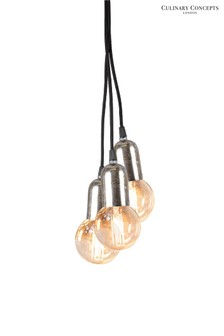 Culinary Concepts 3 Light Cluster Pendant