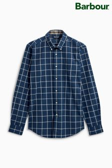 Barbour® Navy Halton Check Shirt