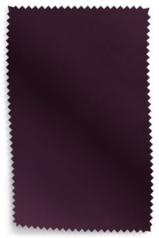 Matt Velvet Dark Plum Fabric Roll