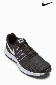 Nike Black/White Run Swift