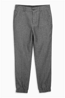 Textured Cuff Hem Trousers (3-16yrs)